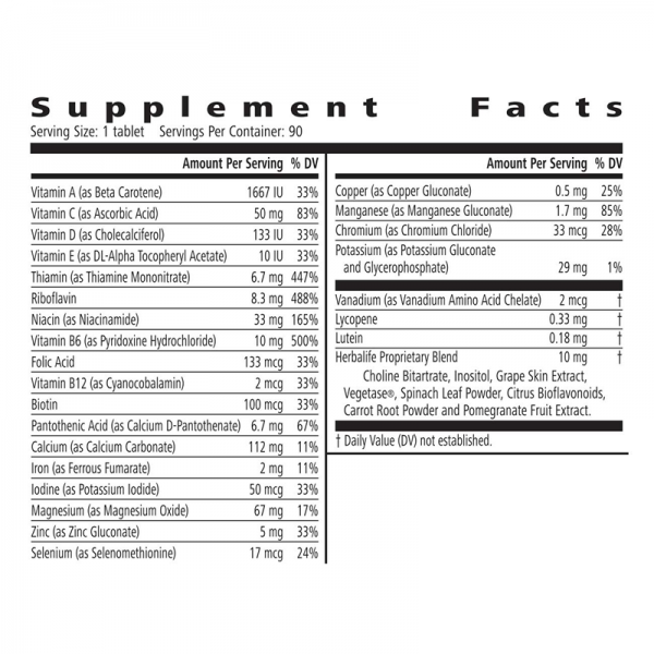 Formula-2-multivitamin-information