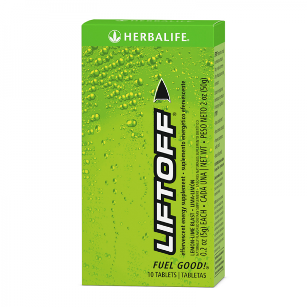 liftoff Herbalife lemon